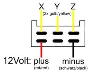 3 Phase Motorcycle Rectifier Regulator 3 Phase Alternator