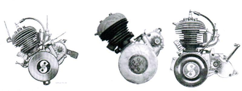 Powerdynamo, System für Motor Sachs 98