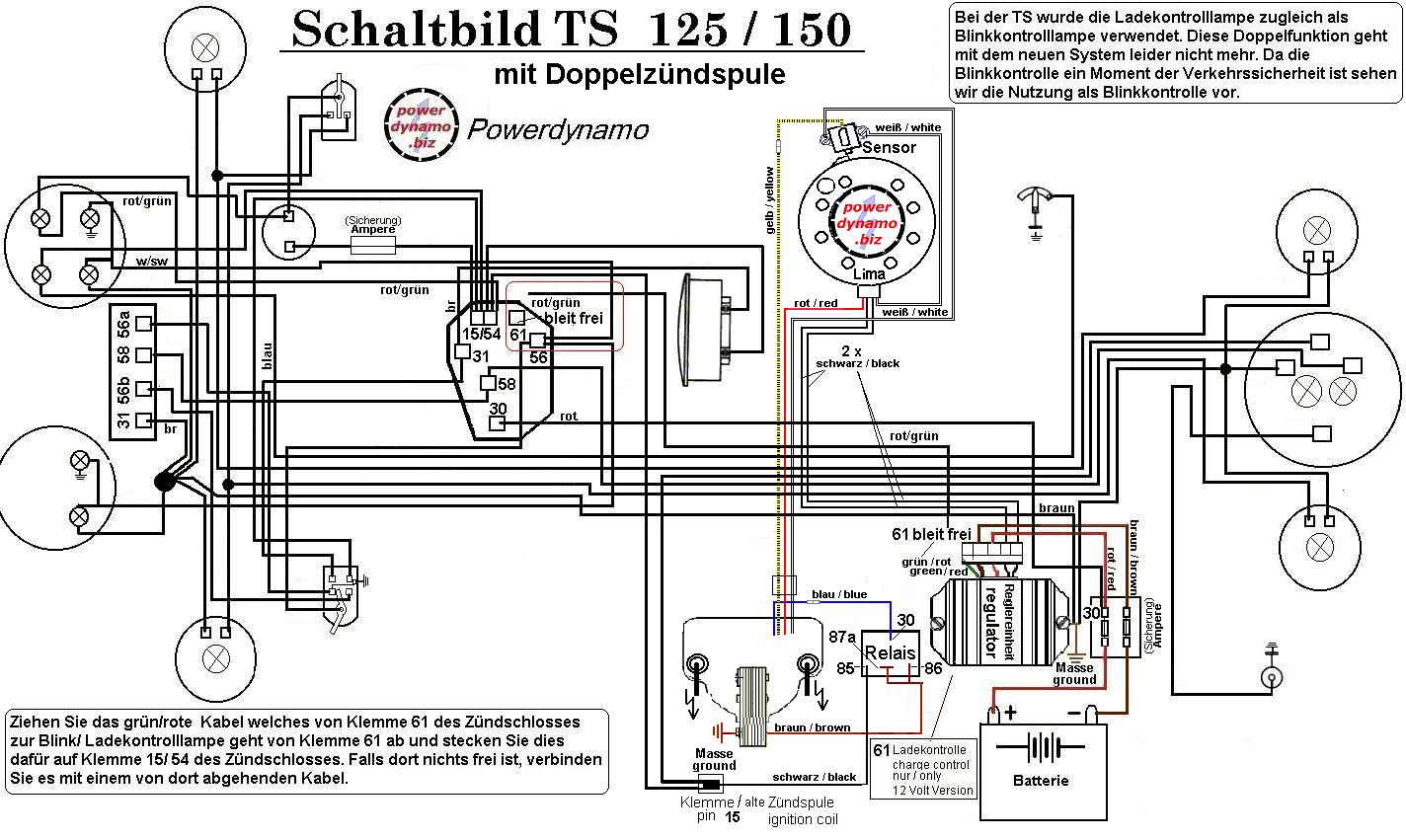 Mz Ts 150 Wiring Diagram, Mz, Free Engine Image For User