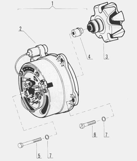 Powerdynamo for JAWA 638-640, 632 and CZ 472/6 twins