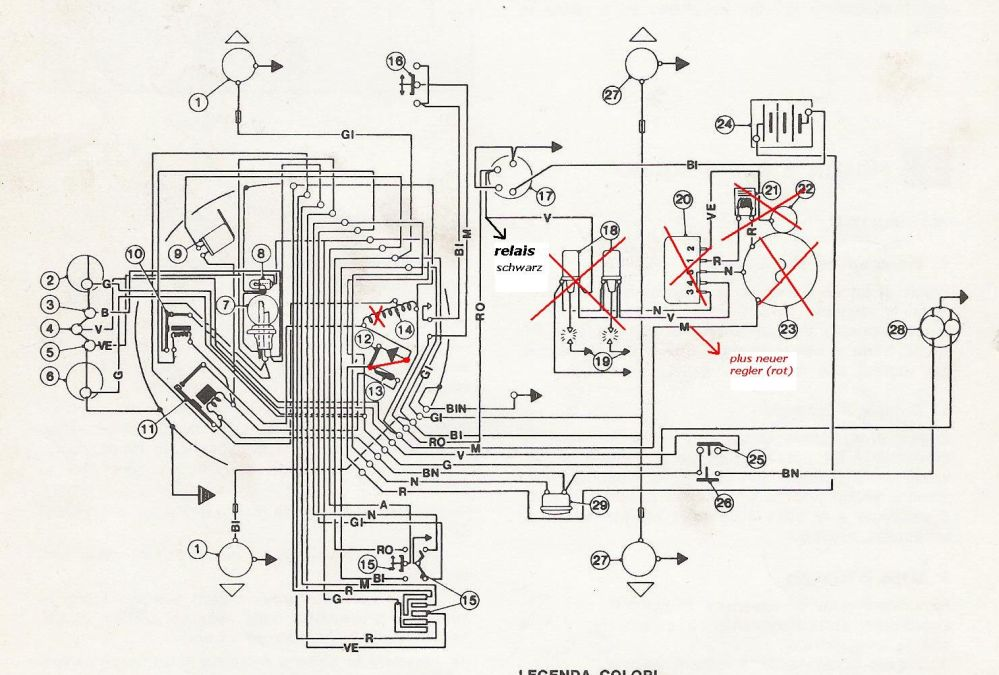 medium resolution of powerdynamo for benelli engine 125 and 250 2c benelli 250 wiring diagram