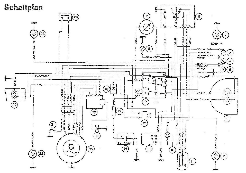 Powerdynamo Installationsanleitung Fur Puch 6 Gang