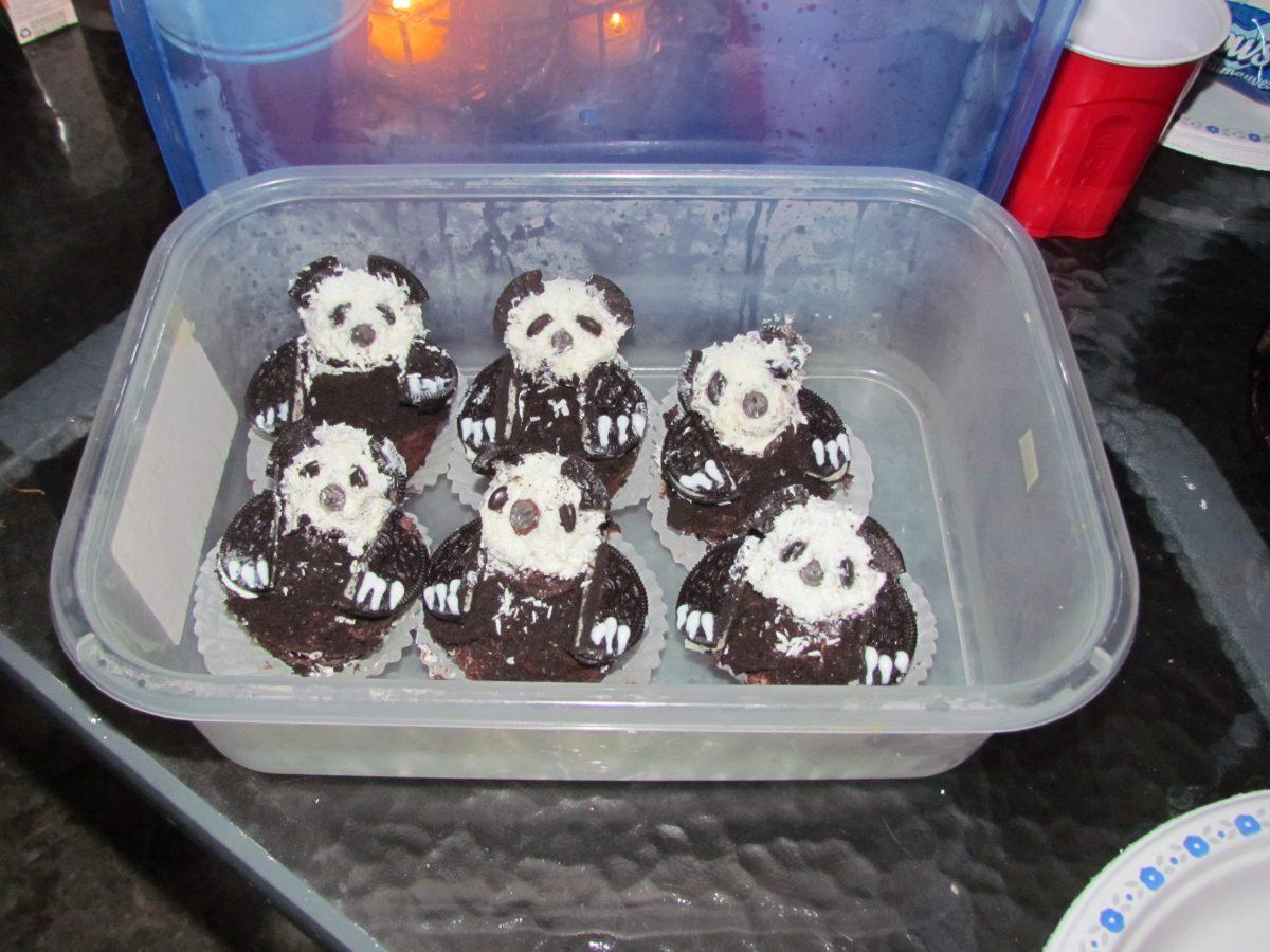 Panda Bear Cupcakes for a Tween Birthday Party Idea