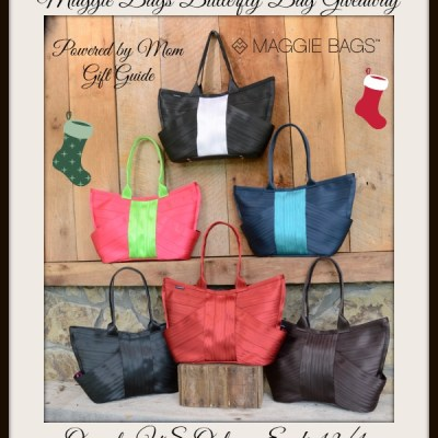 Maggie Bags Butterfly Bag Holiday Gift Guide Giveaway ends 12/1