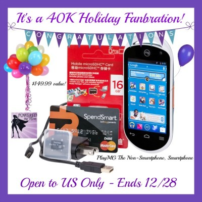 PlayMG Mobile Entertainment System Holiday Giveaway ends 12/28