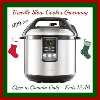 Breville Fast Slow Cooker Giveaway #LDHoliday ends 12/18 {$199 arv}