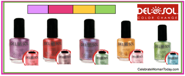 Delsol Color Changing Nail Polish Flash Giveaway Powered By Mom