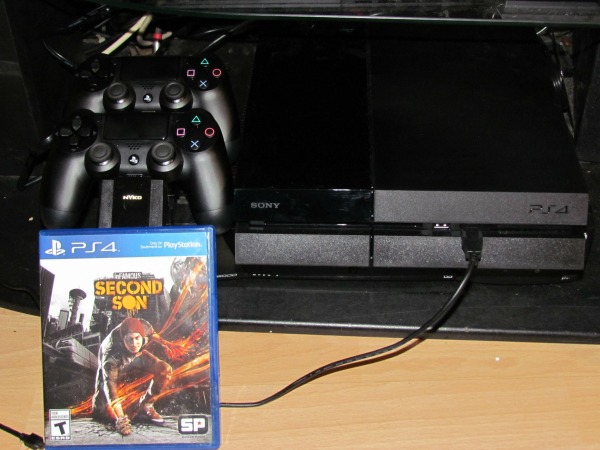 PS4 second son