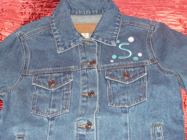 denim jacket top