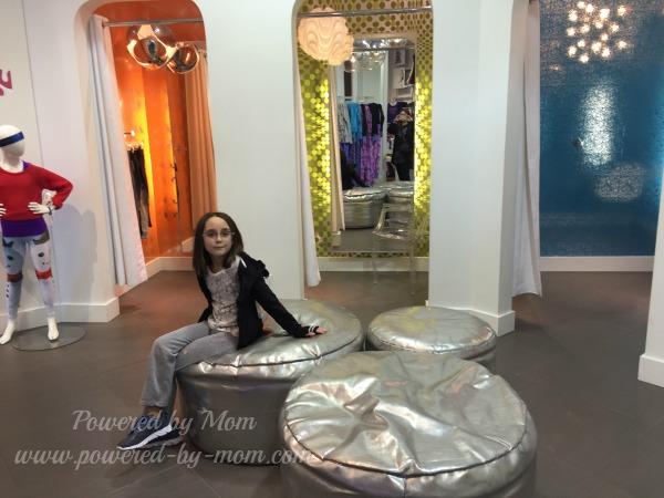 triple flip dressing rooms