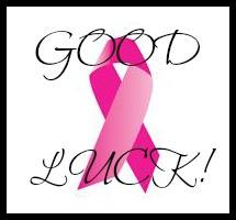 good luck pink ribbon