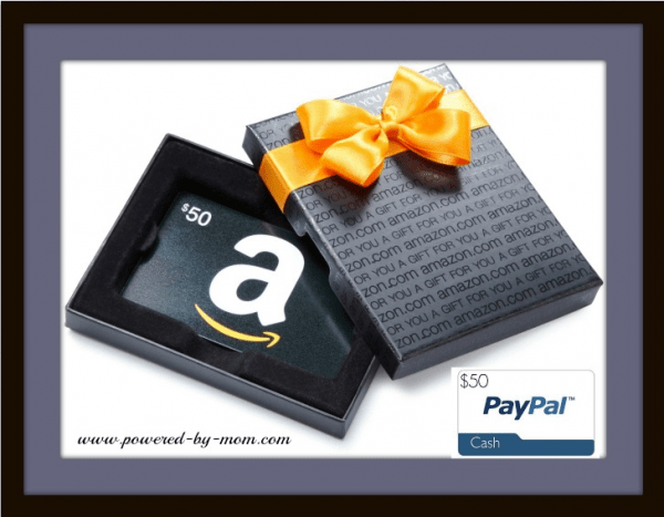50 paypal amazon purple gift box