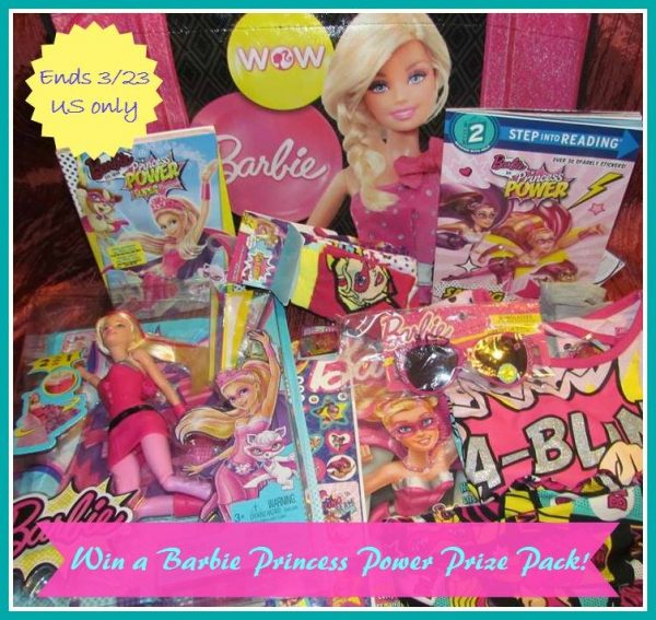 Barbie Power Princess button