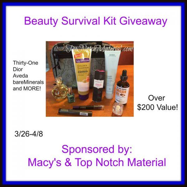 beauty survival kit