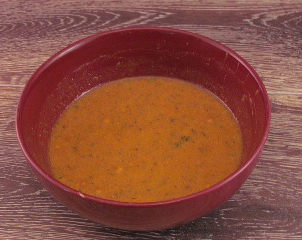 Modern Table Red Pepper sauce