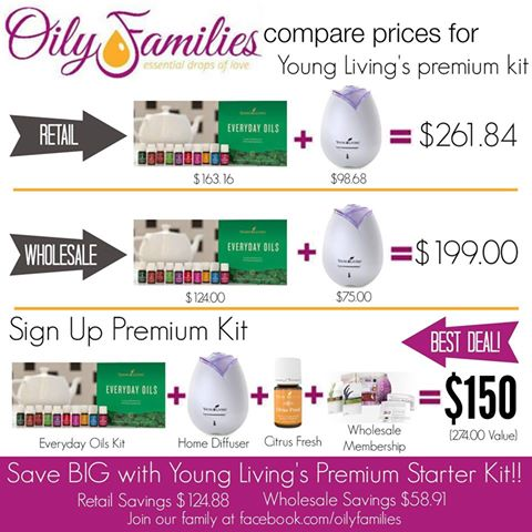 young living price comparison
