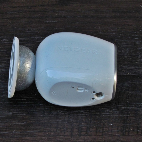 Arlo camera side view