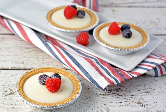 Coconut Tart 4th of July