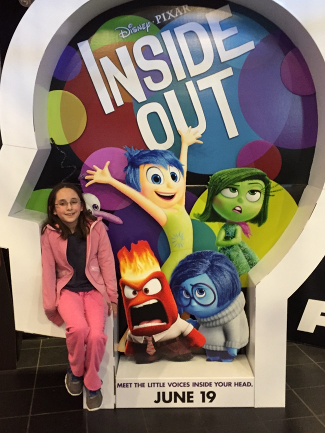 Inside Out at the movies