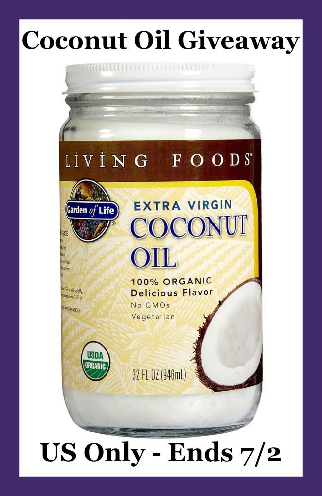 garden of life coconut oil button