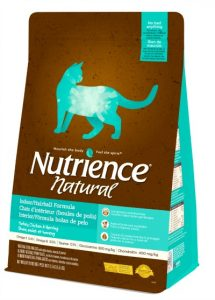 nutrience natural hairball formula