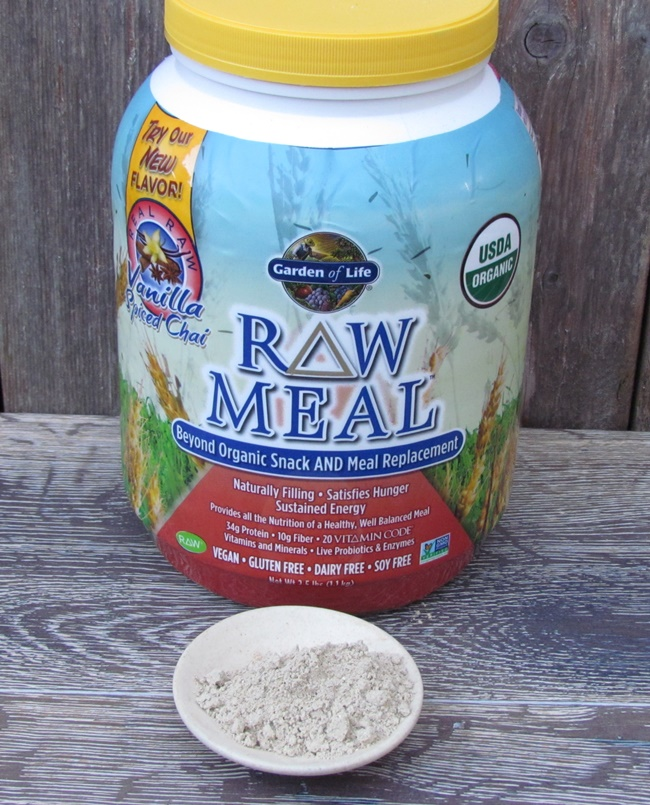raw meal with powder