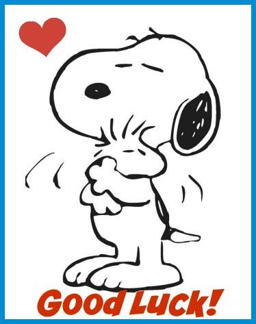 snoopy good luck 2