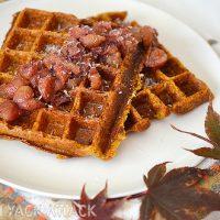 4. Gluten Free Carrot Waffles
