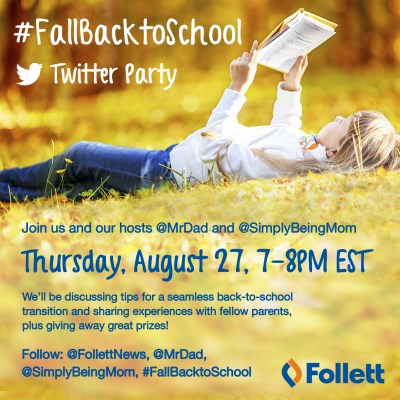 8 Tips for Back to School & Twitter Party #FallBackToSchool