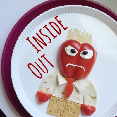 Disney PIXAR Inside Out Anger Snack