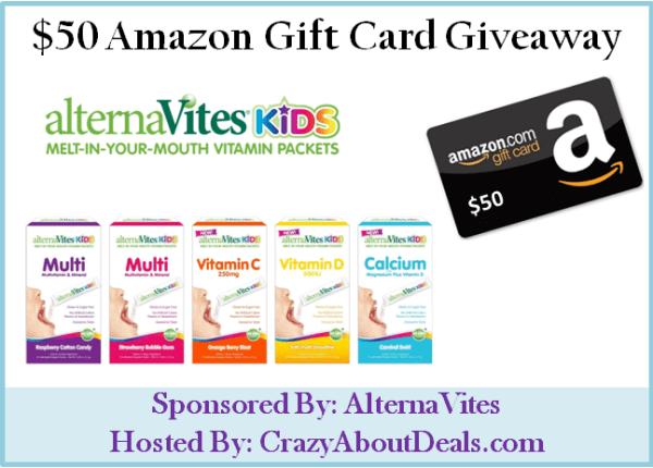 AlternaVites-50-Amazon-GC-Giveaway
