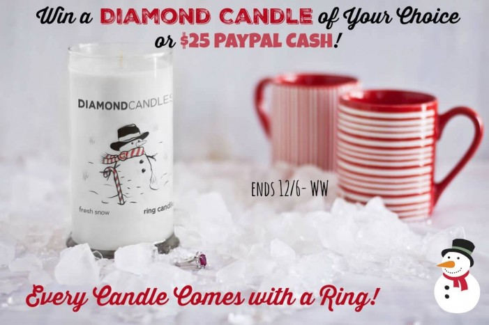 diamond candle paypal