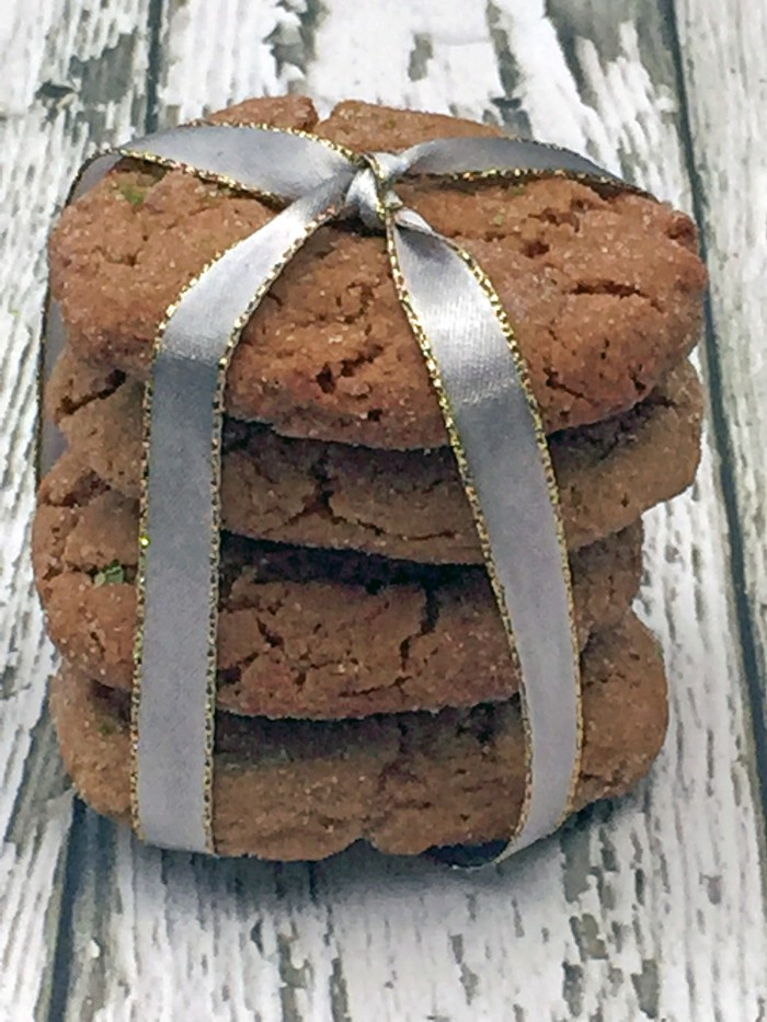Krusteaz gingerbread with ribbons