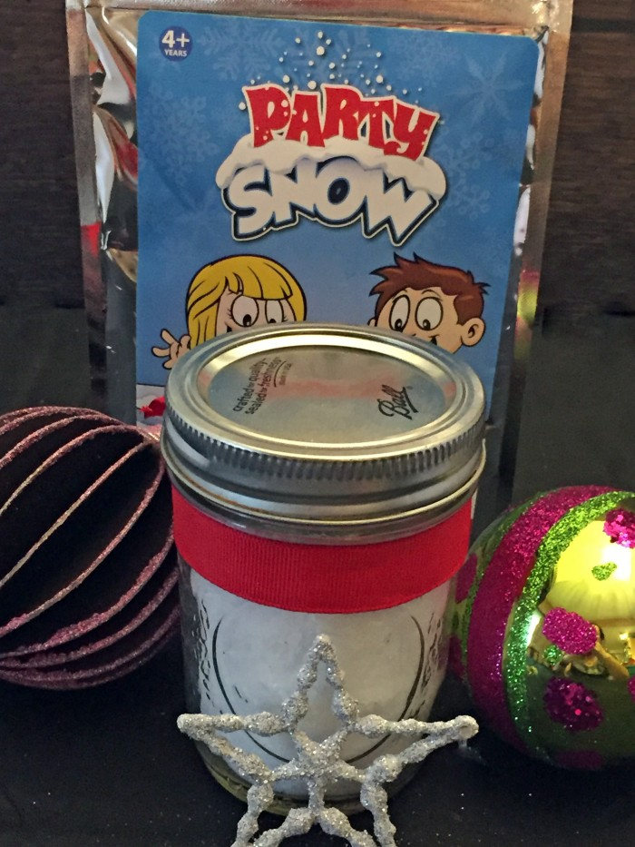 party snow gift