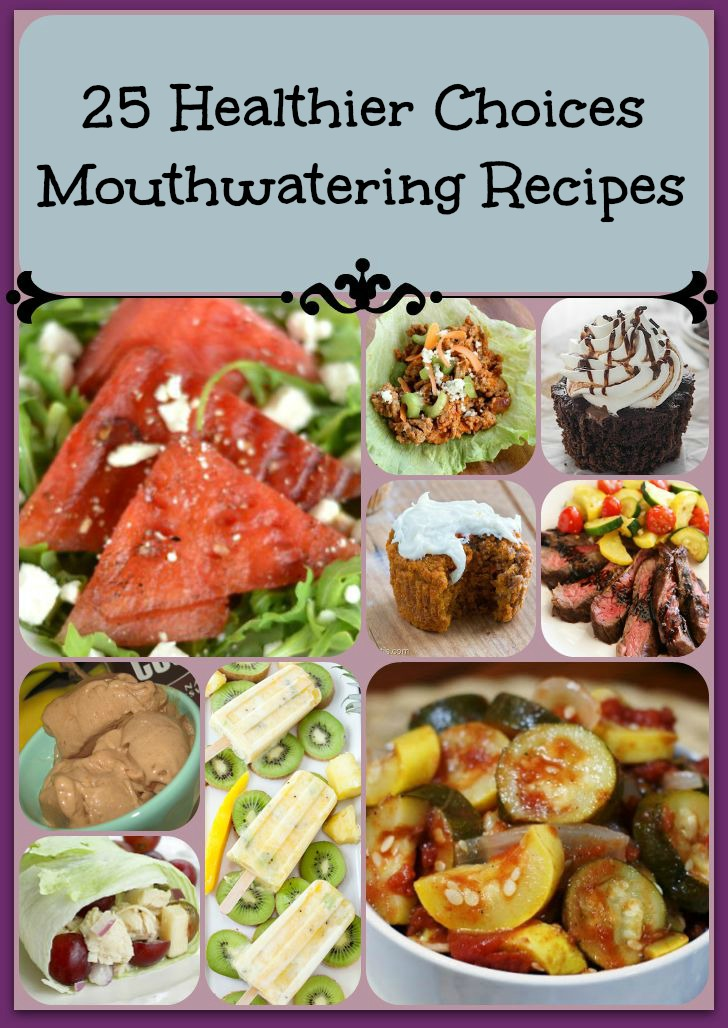 25 healthy recipes