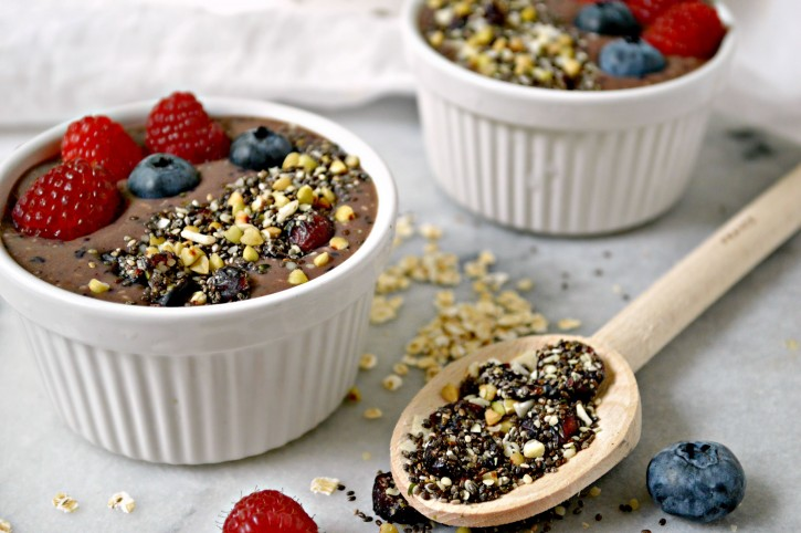 banana berry breakfast bowls