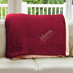sherpa blanket red