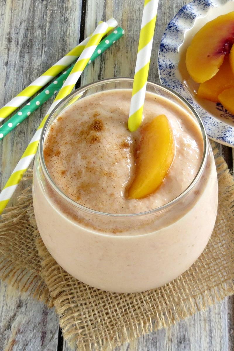 peaches and cream smoothie (1)
