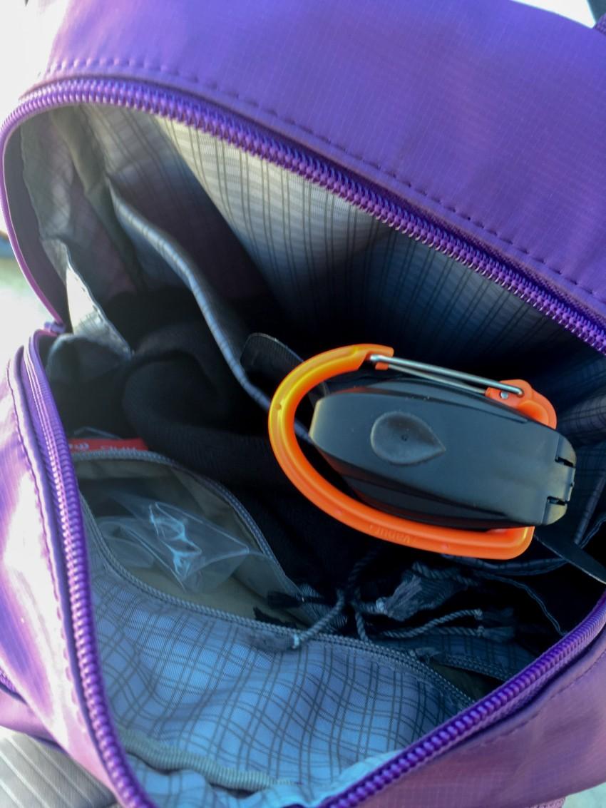 Beside U Backpack inside
