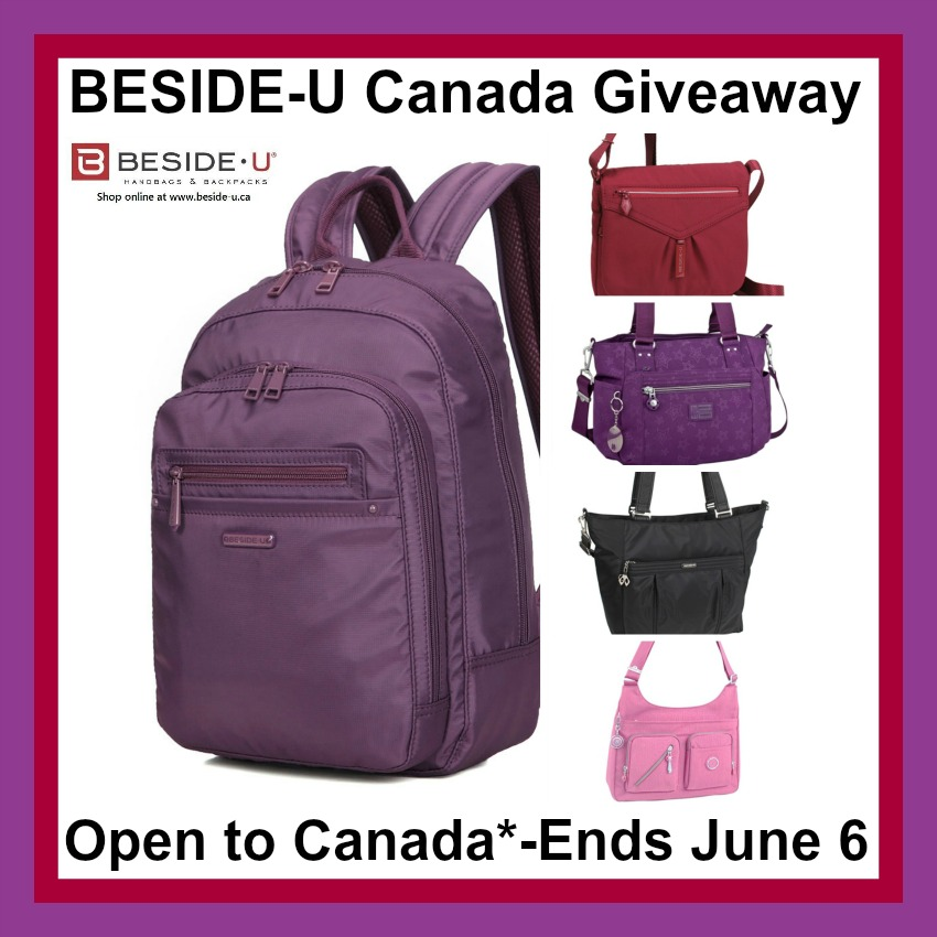 Beside U bags button