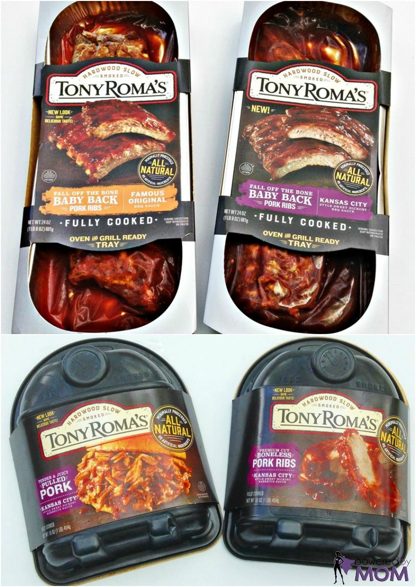 Tony Roma's Ribs and BBQ products
