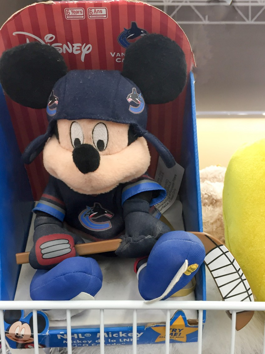 Still in the packaging Mickey Mouse Toy
