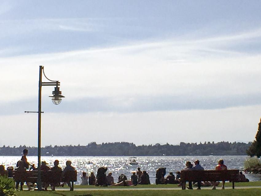 lake washington and people