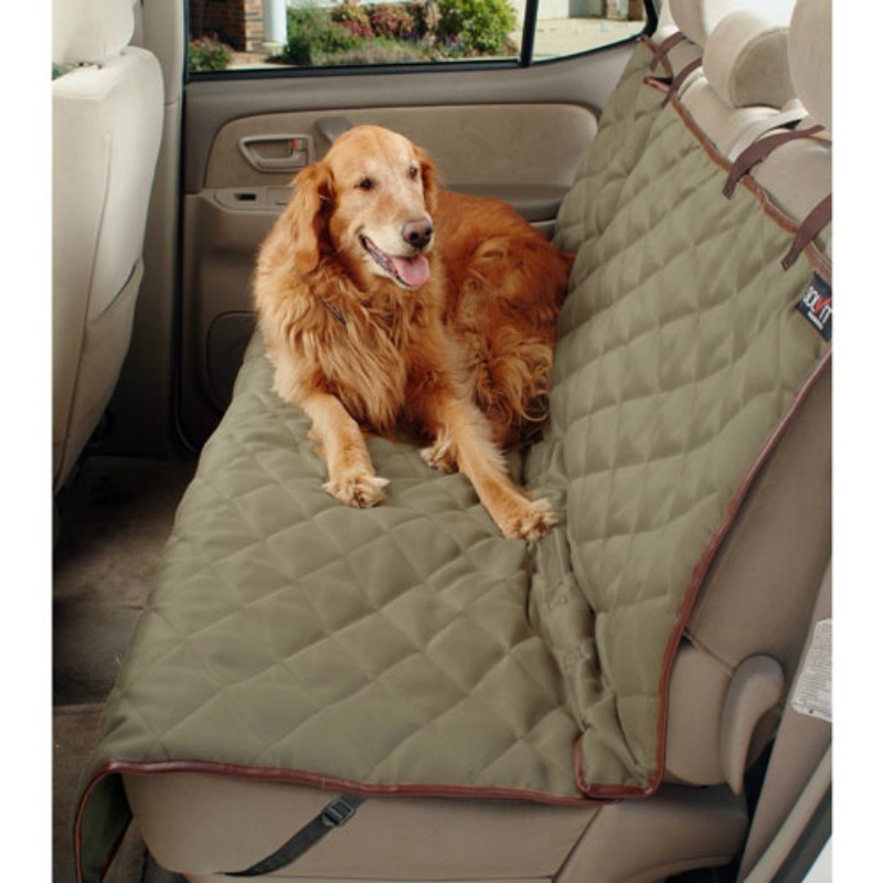 Deluxe Bench Seat Cover, Classic Green