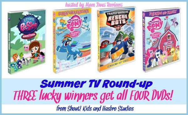 summer tv dvds