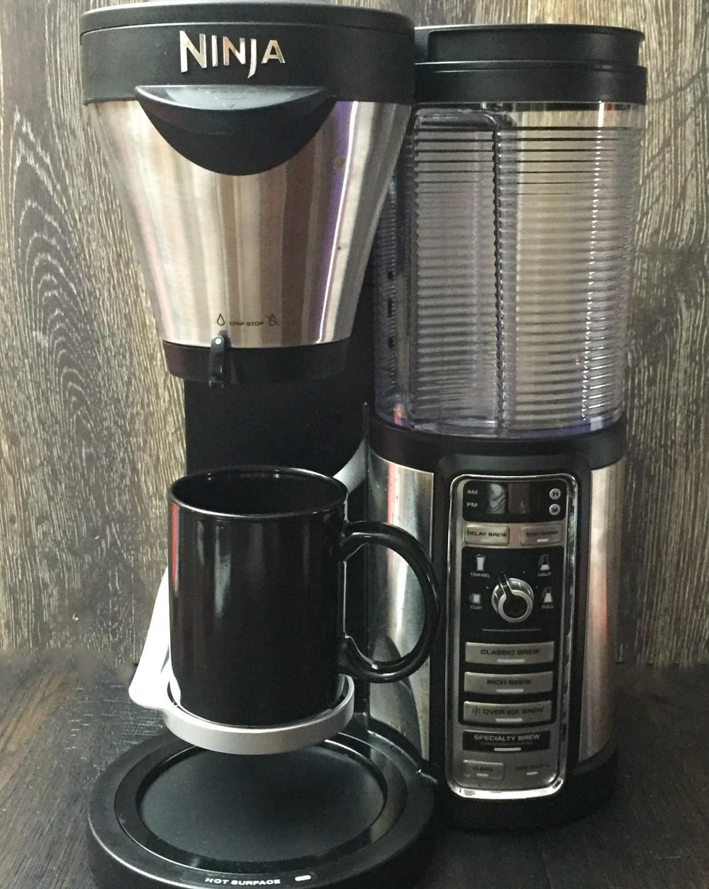 Ninja coffee cup heights