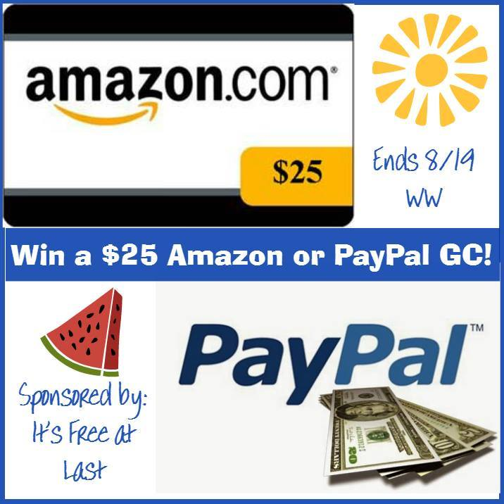 amazon paypal giveaway
