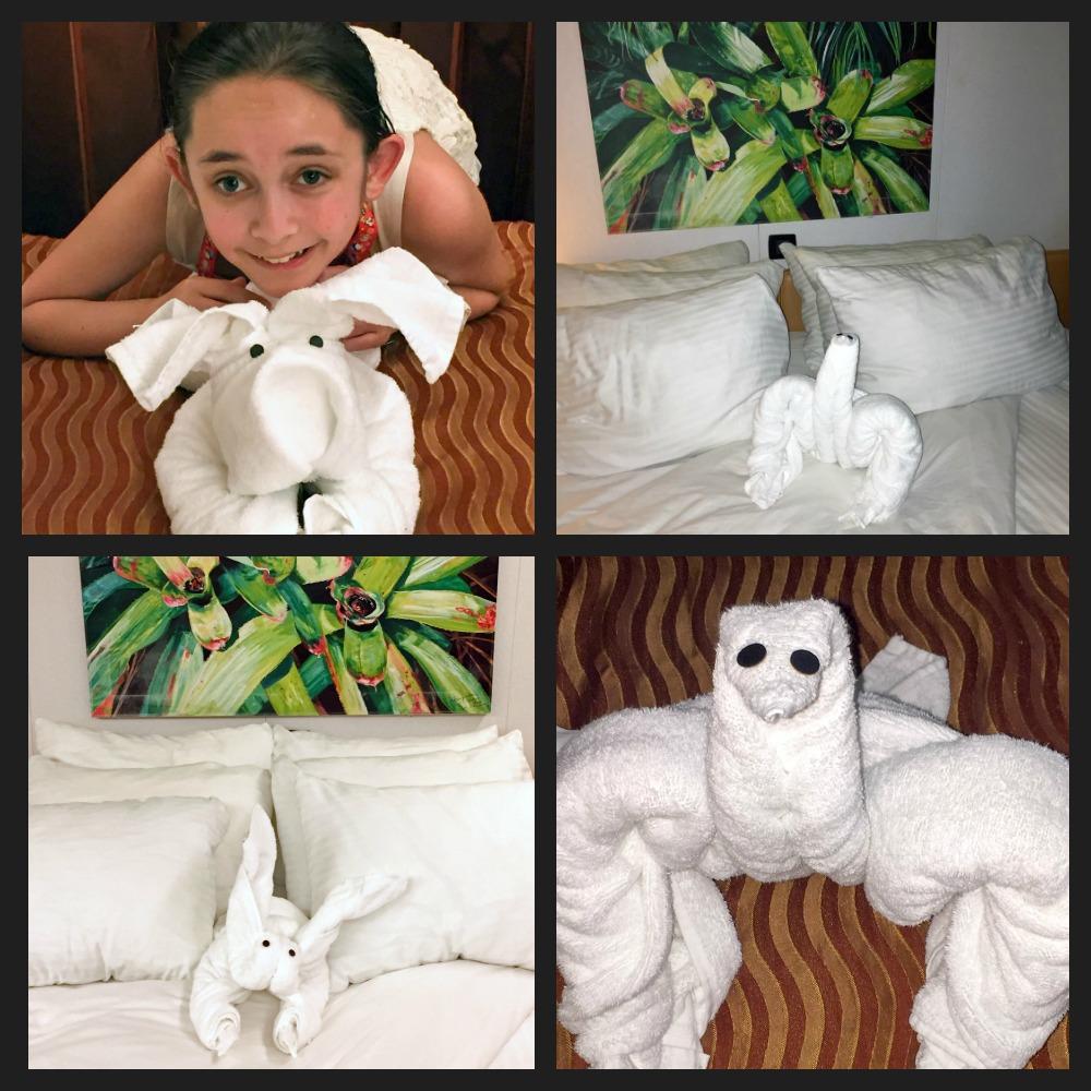 Towel creatures