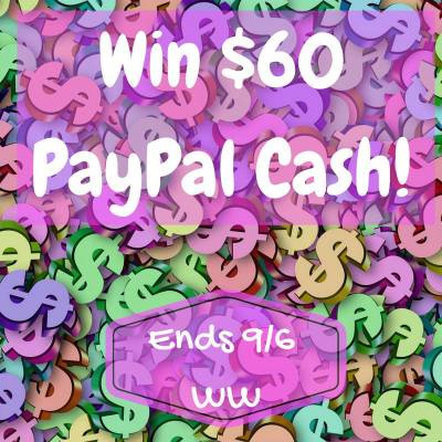 $60 Paypal Cash Labour Day Weekend Giveaway