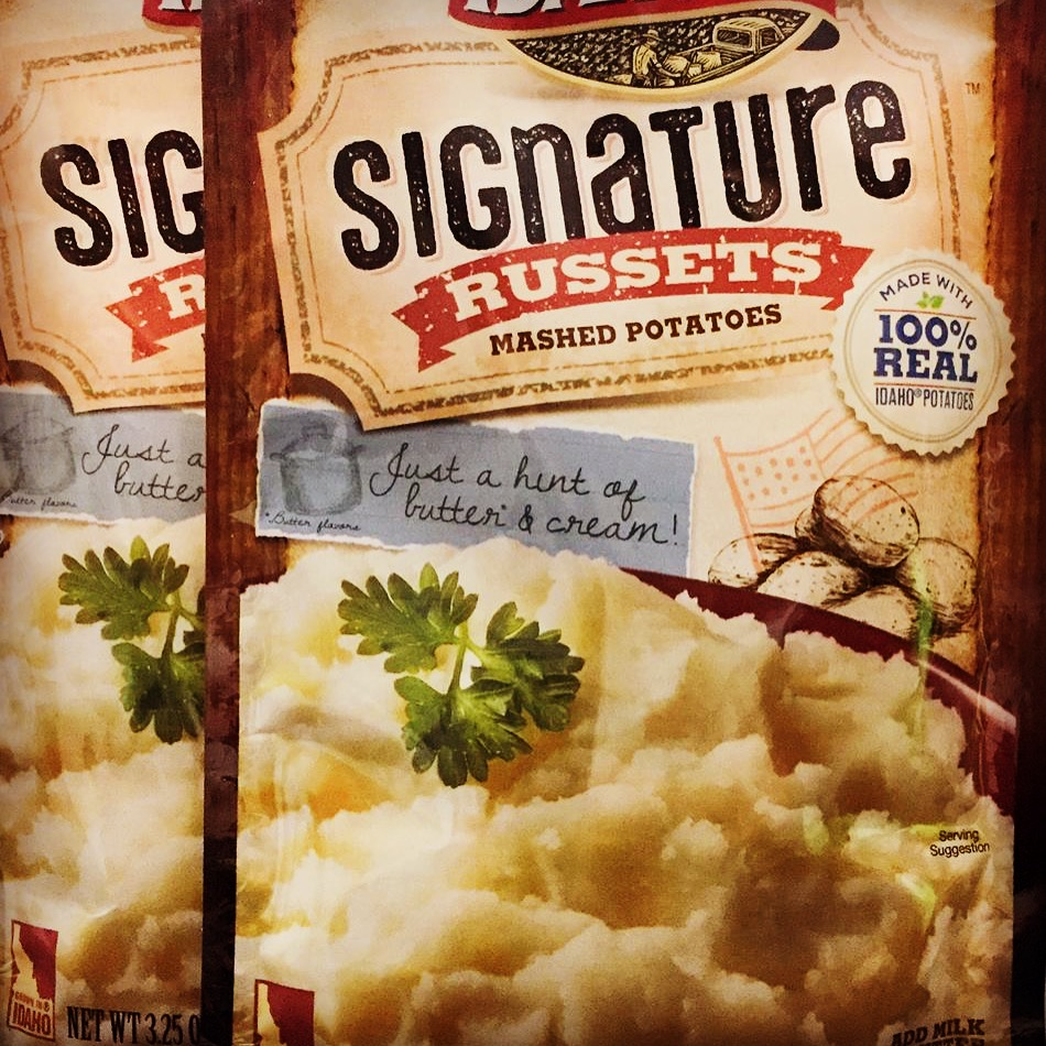 Idahoan Russets Mashed Potatoes